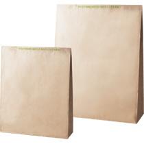 クイックオープン宅配袋 クラフト未晒し 大 茶 封かんテープ付 1セット(400枚:50枚×8袋)