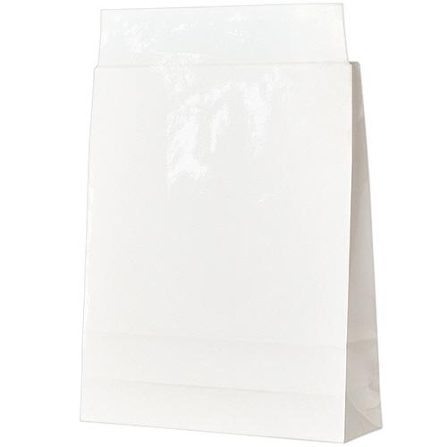 宅配袋 PPフィルム加工 小 白 封かんテープ付 1セット(1000枚:100枚×10パック)