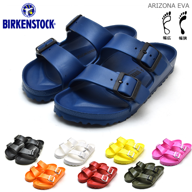 b285cfeba9e4 Birkenstock EVA BIRKENSTOCK Arizona ARIZONA mens Womens normal narrow Navy  yellow Sandals pink orange red khaki