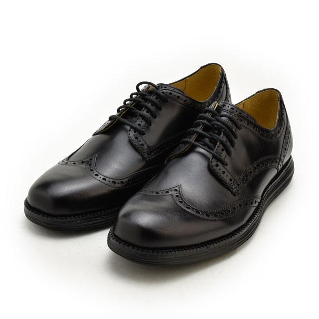 e22dafb09d4 Cloud Shoe Company  Cole Haan COLE HAAN original Grand wing tip C20770  Black   Black