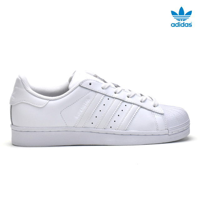 promo code a1913 492df Adidas adidas B23641 superstar SUPERSTAR Lady's white white White  FOUNDATION J sneakers