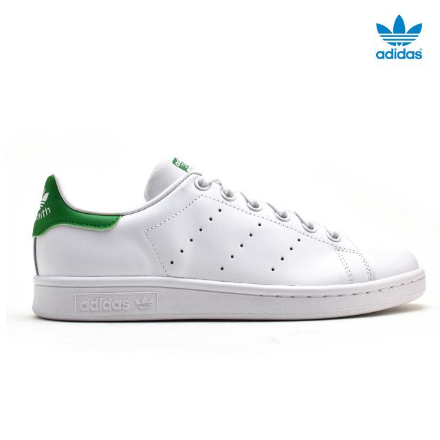 promo code 04597 70160 Adidas adidas B24105 Stan Smith STAN SMITH STANSMITH W Lady s white white  green White sneakers ...