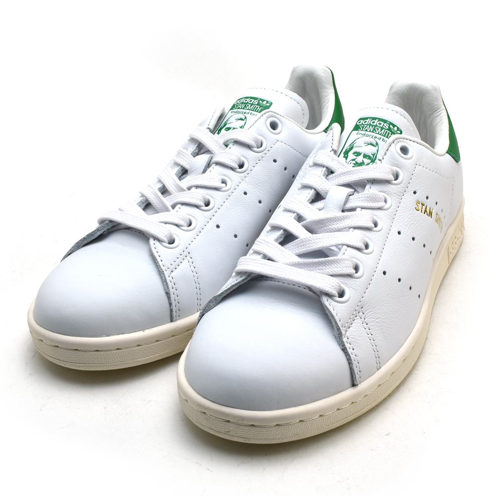 new style b15bb 322d5 ... netherlands adidas stan smith ladys white x green white adidas stan  smith s75074 white white sneakers