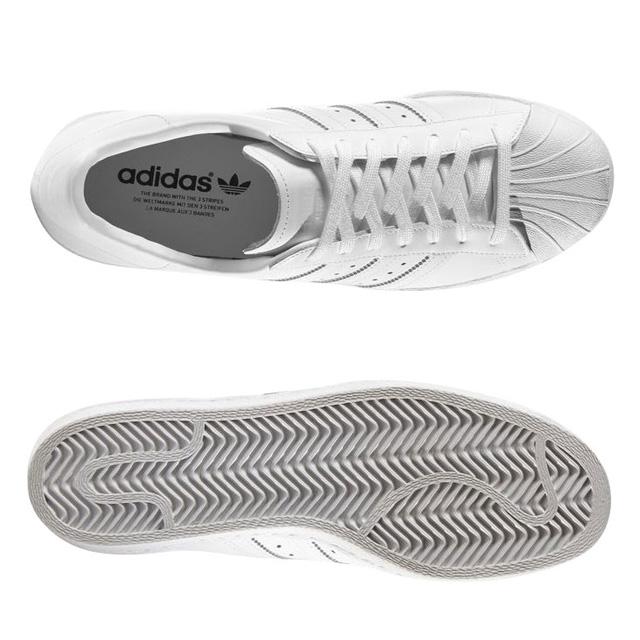 f5fc54cee1 Adidas originals adidas SUPERSTAR 80s superstar S79443 white men