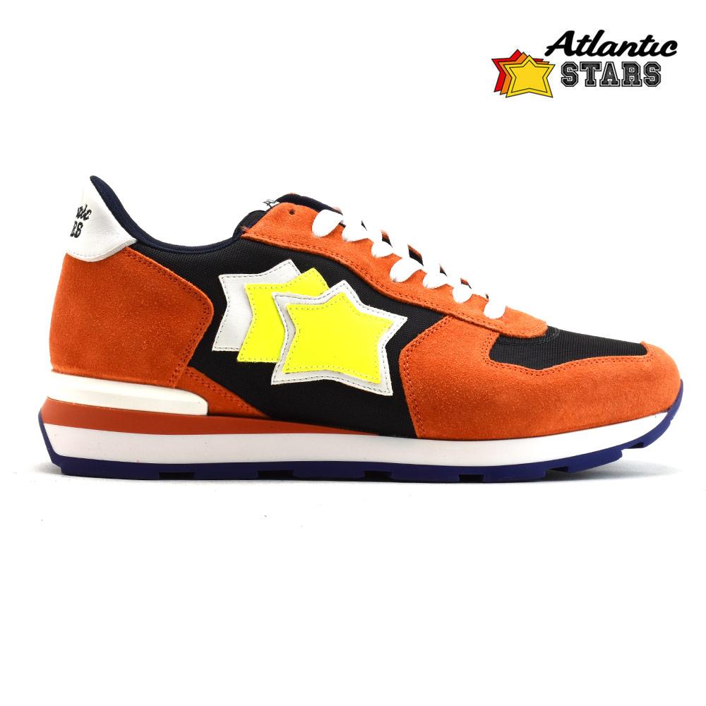 アトランティックスターズ Atlantic STARS ANTARES ONN-16B ORANGE アンタレス スニーカー ローカット ランニングシューズ オレンジ メンズ【送料無料】