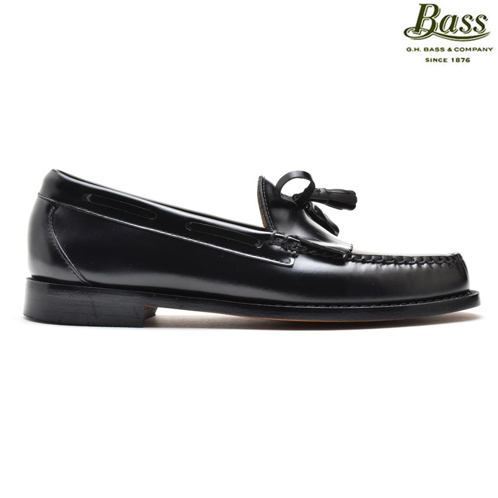 #ルンルン春うらら♪ ジーエイチバス G.H.BASS LAYTON PULL UP BLACK レイトン ブラック 黒 プルアップ ローファー カジュアル ドレス シューズ 革靴 メンズ