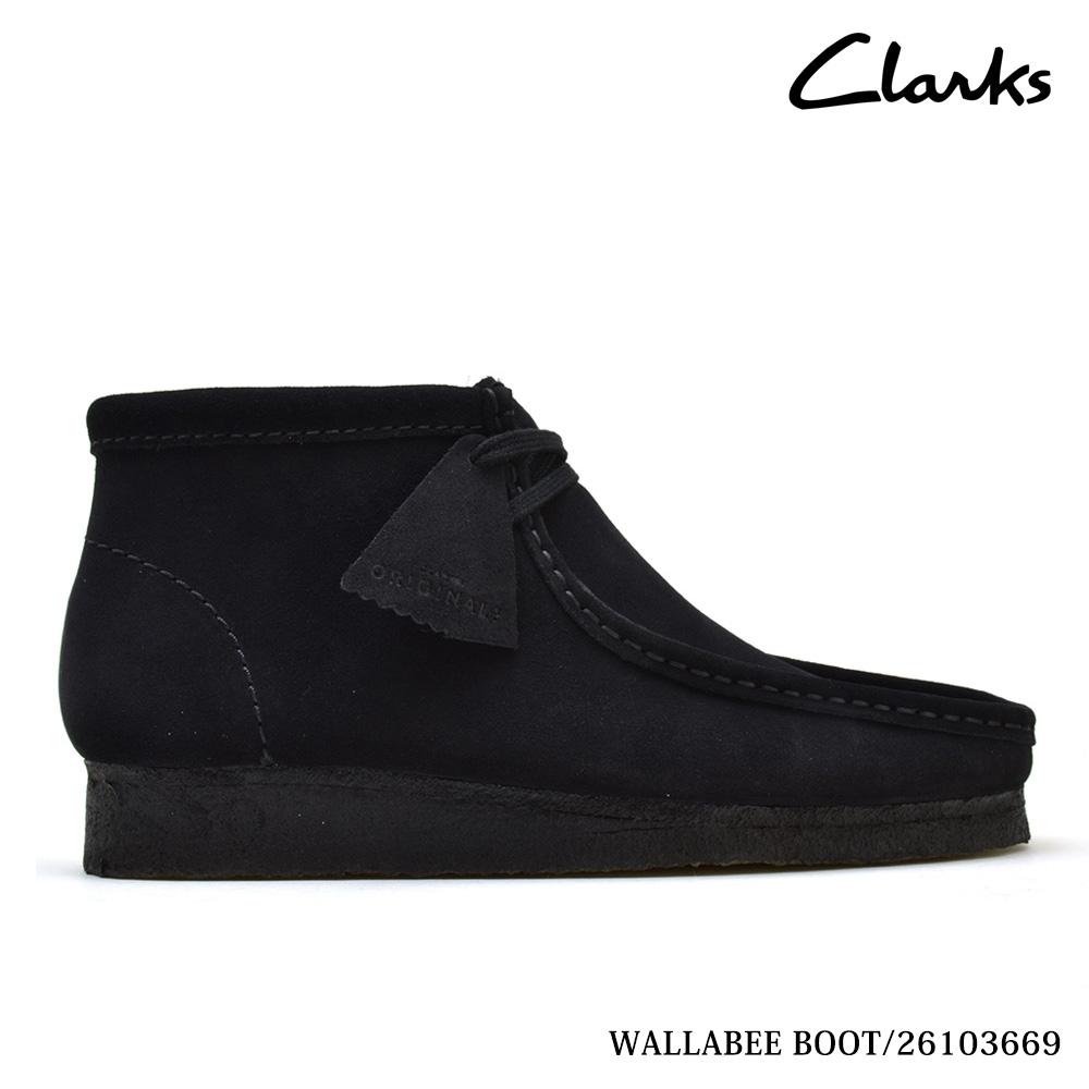 e462c52f Clarks CLARKS 35409 WALLABEE BOOT BLACK SUEDE mens size Clarks Wallaby  boots Black Suede Clarks 35409
