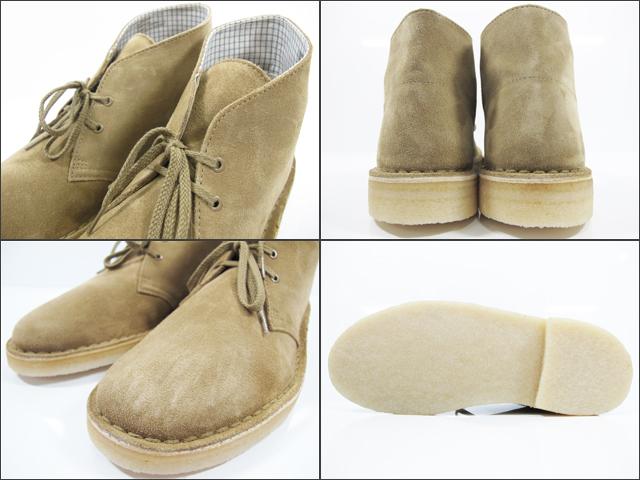 Clarks CLARKS 70529 DESERT BOOT OAKWOOD SU mens size Clarks desert boots Oakwood suede