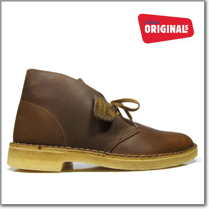 Christmas Men s Clarks Desert Boots Casual Leather Beeswax Shoes Online Shop