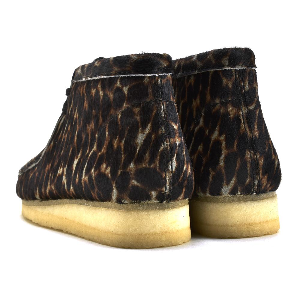Brown Animal Print CLARKS Men/'s Wallabee Boot Chukka