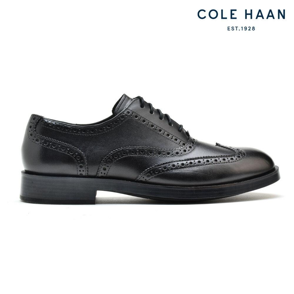 コールハーン COLE HAAN C24152 HENRY GRAND SHORTING OX BLACK ビジネスシューズ ドレスシューズ ウィングチップ ブラック 黒 メンズ【送料無料】