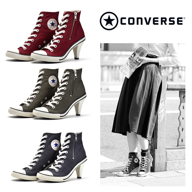 8bcf93cc99f7a8 Converse CONVERSE ALLSTAR 32099004 32099008 MOSS HEEL Z HI all-stars heel  higher frequency elimination Lady s sneakers