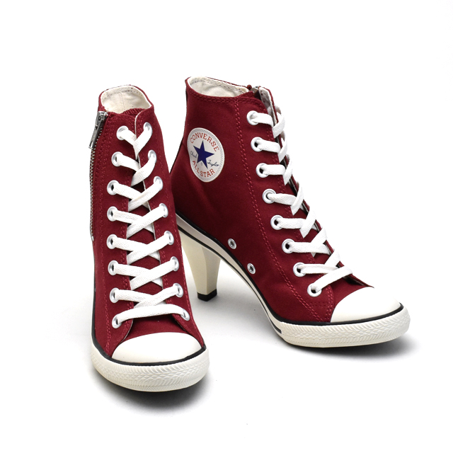 Converse CONVERSE ALLSTAR 32099004 32099008 MOSS HEEL Z HI all stars heel higher frequency elimination Lady's sneakers