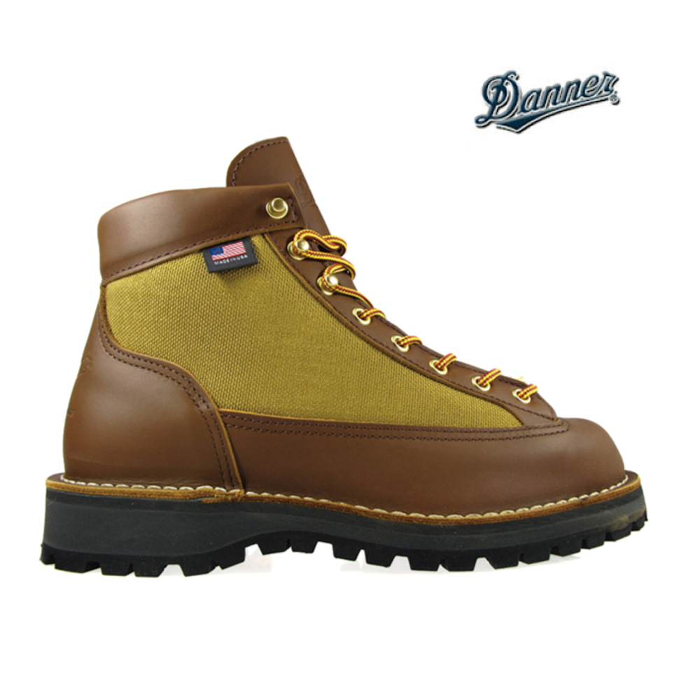 decd5eb88e9 30440 Danner DANNER LIGHT MEN EE GORETEX LIGHT BROWN Danner light light  brown Gore-Tex waterproofing OUTDOOR boots