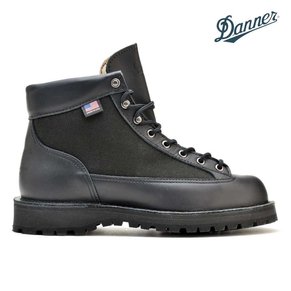 ダナー ライト ブラック 黒 DANNER LIGHT 30465 GORE-TEX BLACK ゴアテックス アウトドア マウンテン ブーツ トレッキングシューズ