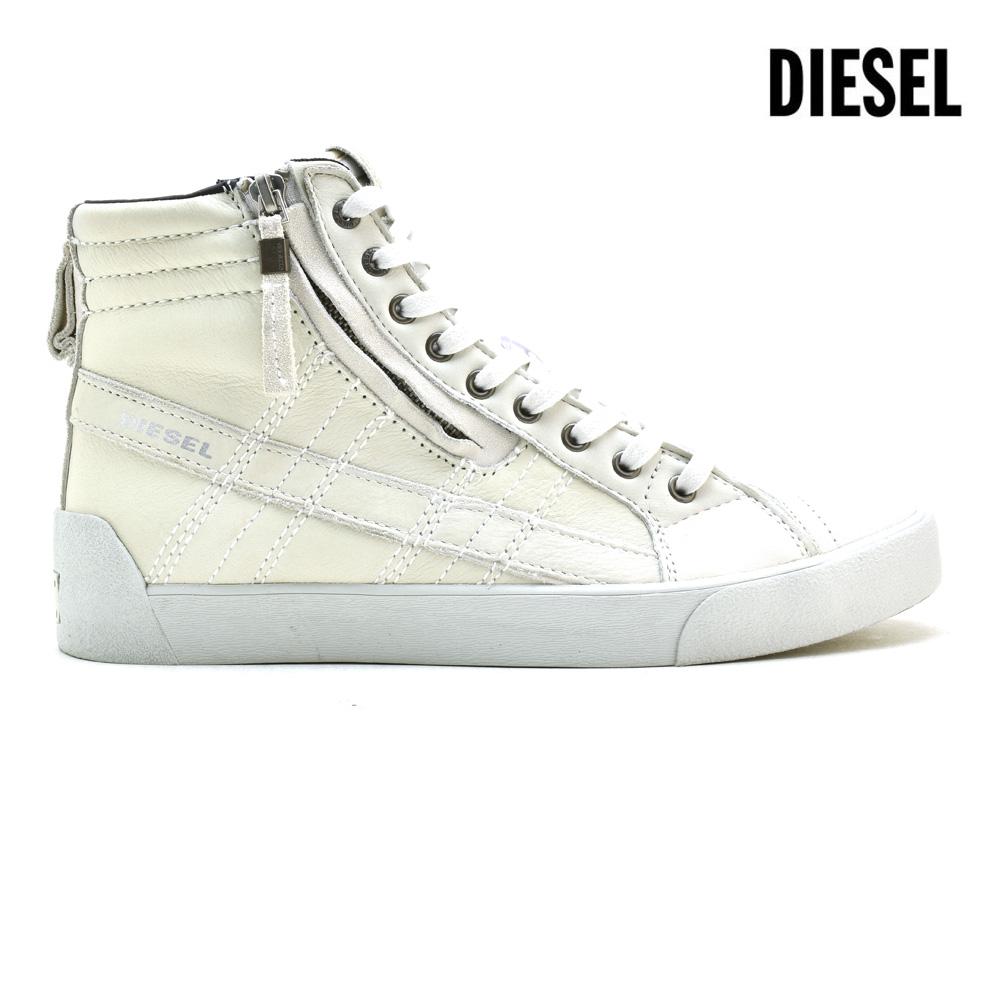 ディーゼル DIESEL Y01169/P0878 T1003 ハイカット スニーカー ホワイト 白 WHITE メンズ