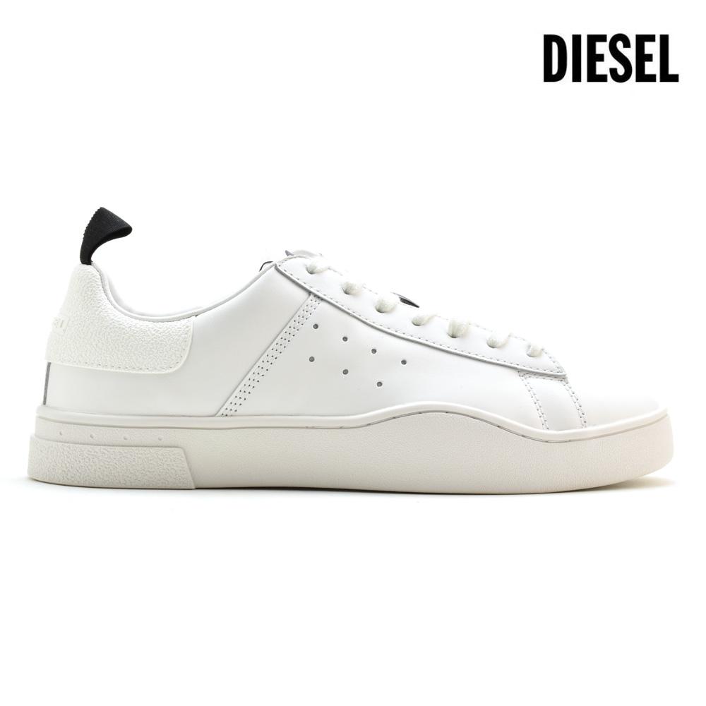 ディーゼル DIESEL Y01748/P1729 H0038 SNEAKER S-CLEVER LOW WHITE ローカット スニーカー ホワイト 白 メンズ【送料無料】
