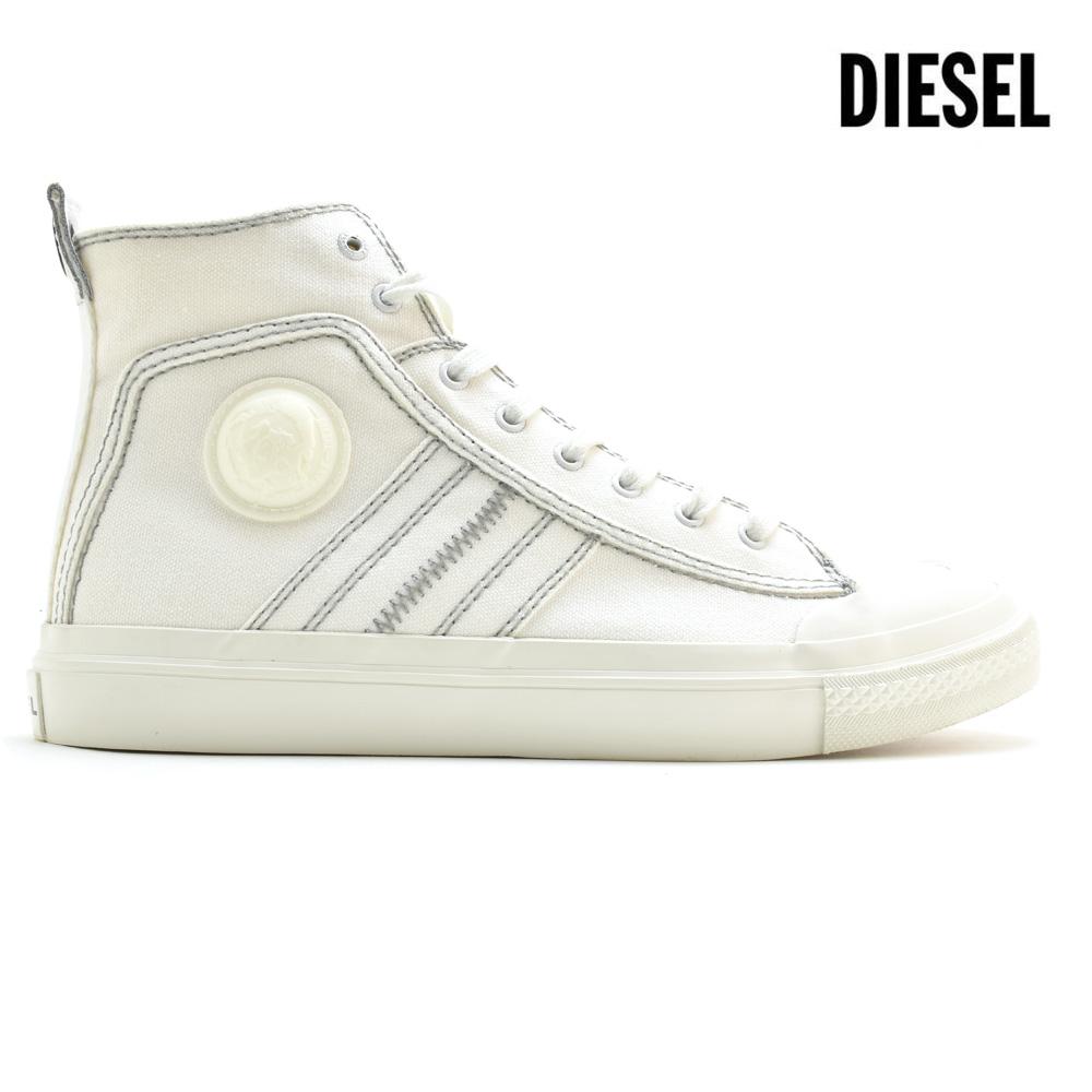 ディーゼル DIESEL Y01874/PR012 T1015 SNEAKER S-ASTICO MIDLACE WHITE ハイカット スニーカー ホワイト 白 メンズ【送料無料】