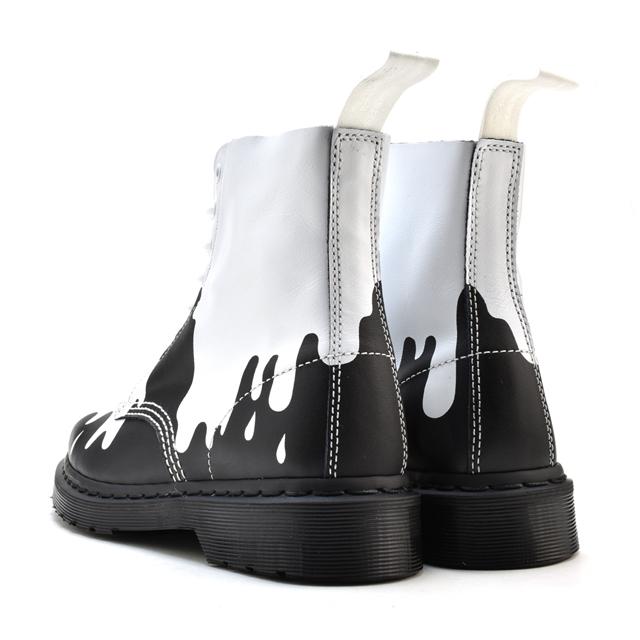4e9cd8fe93a Dr. Martens Dr.MARTENS 1460 8EYE BOOT CORE PRINT PASCAL BLACK WHITE (black)  21079101 1460