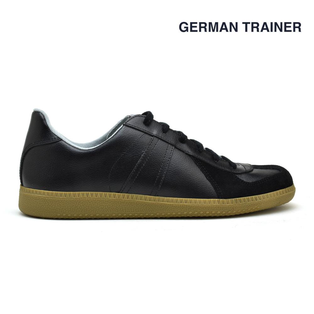 a2cb89fb0786 Cloud Shoe Company  German trainer black black GERMAN TRAINER 1183 ...