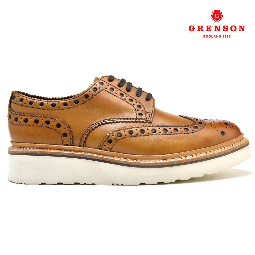 グレンソン GRENSON ARCHIE V 110007 靴 メンズ アーチーV タン カーフ TAN CALF ブーツ
