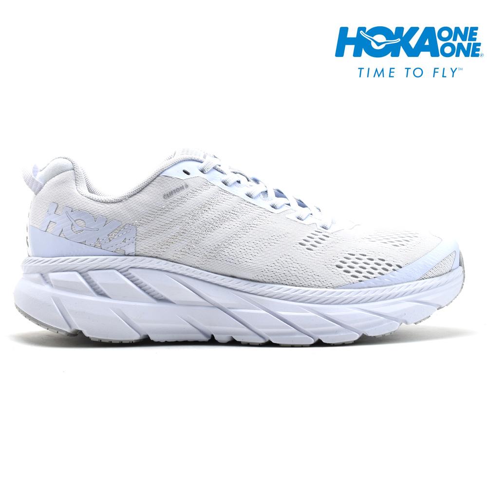 ホカ オネオネ HOKA ONE ONE 1102872 CLIFTON 6 WHITE クリフトン 6 スニーカー ローカット ランニングシューズ マラソンシューズ ブライト ホワイト 白 メンズ