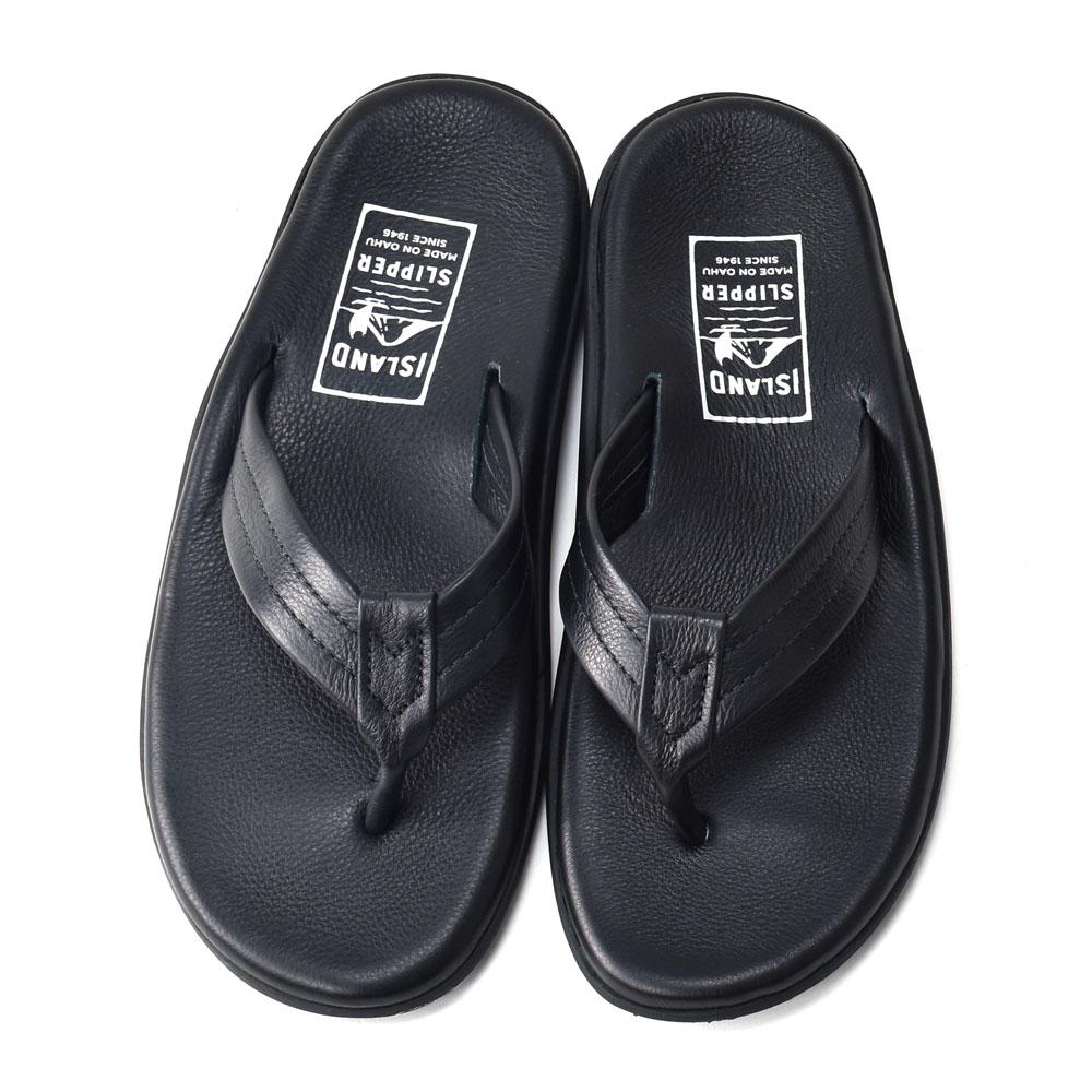 bc4b60561 Island slippers men Hawaii leather sandals black ISLANDSLIPPER PB202 BLACK