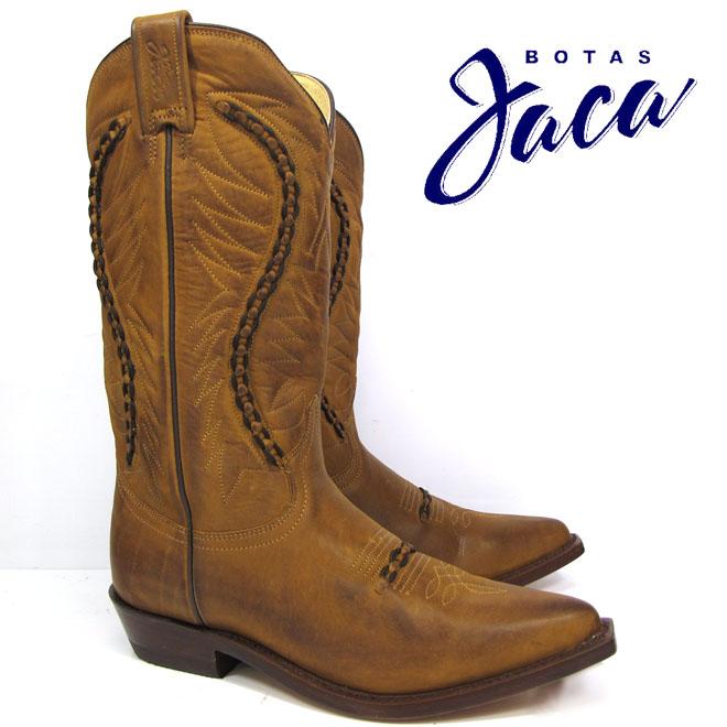 ハカ Botas Jaca 3103 cobre pull-up low boot zipperwestern boots cow boy ウエスタン ブーツカウボーイブーツ ブラウン本革 茶 WESTERN BOOT kalvyn
