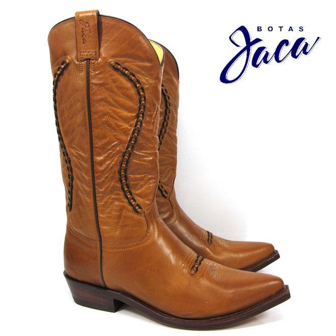 ハカ Botas Jaca 3103 orange atanadobiker no stripwestern boots cow boy ウエスタン ブーツカウボーイブーツ オレンジ本革 キャメル WESTERN BOOT victoria