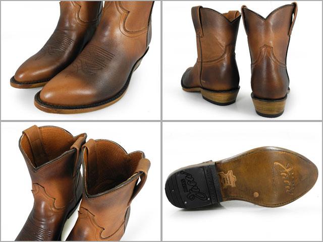 카 Botas Jaca 4019 PIEL ATANADO MIEL deer imit. western boot cow boy boots 웨스턴 부츠 카우보이 부츠 MIEL/HONEY 가죽 WESTERN BOOT vaquero