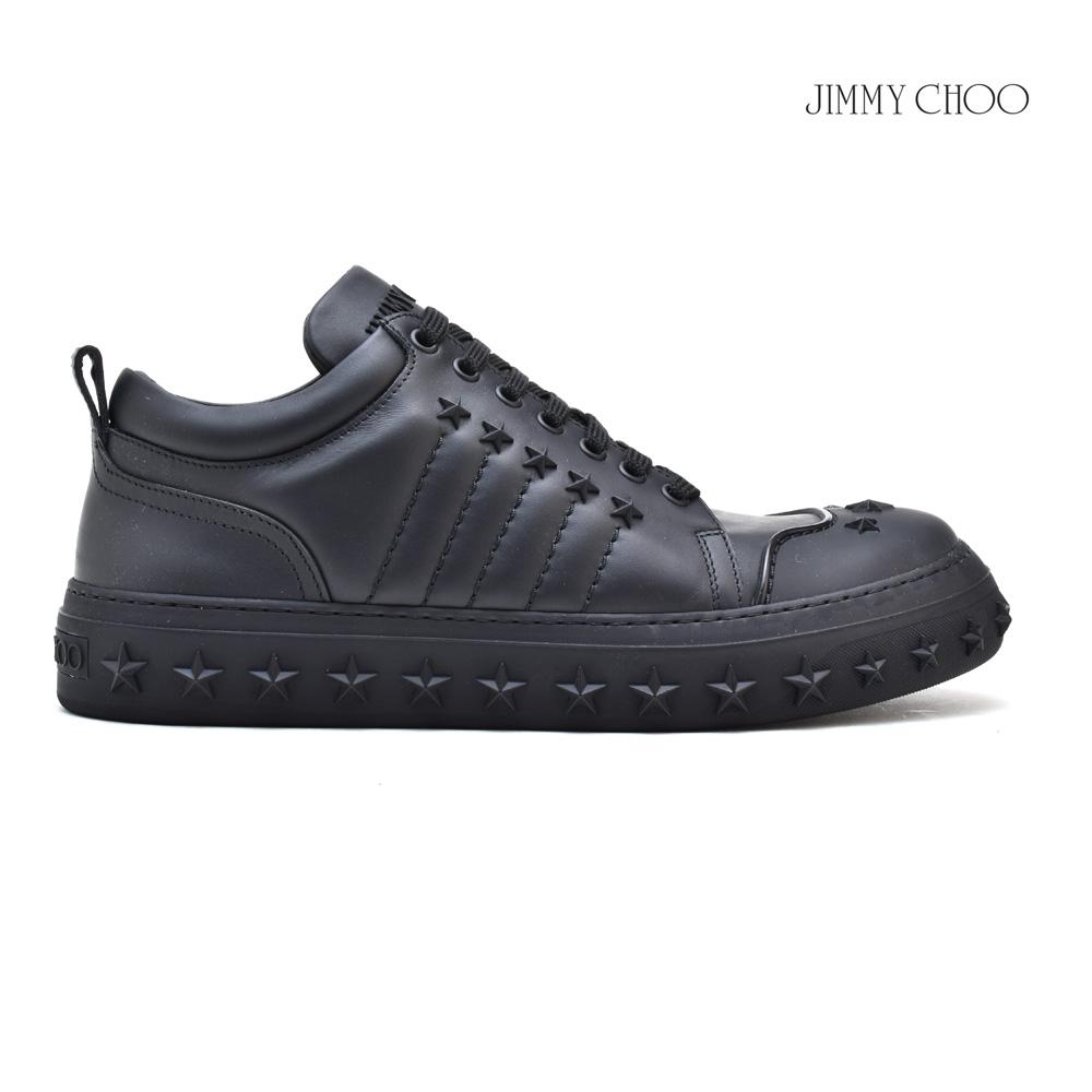 ジミーチュウ JIMMY CHOO CHASE チェイス スニーカー ローカット スタースタッズ ブラック 黒 BLACK メンズ