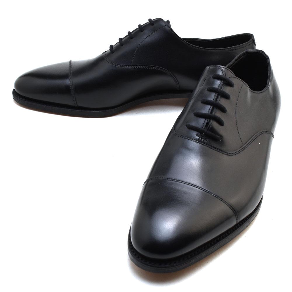John Lobb Shoes >> Men Made In The John Rob City 2 Black John Lobb City2 Dress Shoes Cap Toe Oxford Shoes U K