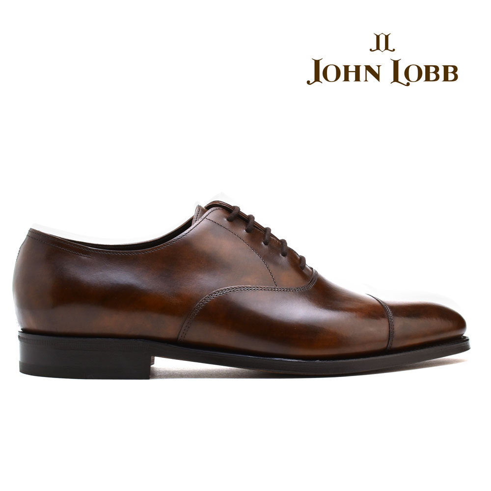 City Ii Leather Oxford Shoes - BrownJohn Lobb