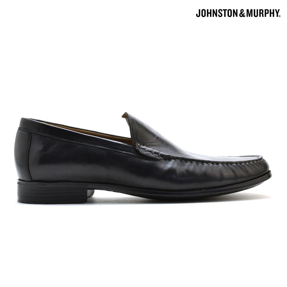 ジョンストン&マーフィー JOHNSTON&MURPHY CRESSWELLVEN 20-8471 BLACK ローファー カジュアルシューズ 革靴 ブラック 黒 メンズ