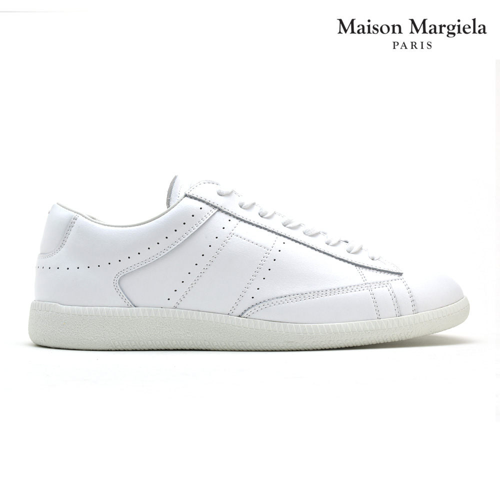 メゾンマルジェラ Maison Margiela S30WS0130 SY0277/101 Ace スニーカー ラウンドトゥ レースアップ メンズ ホワイト 白 SNEAKER White