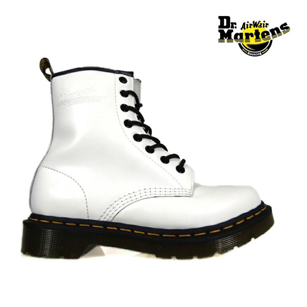 ドクターマーチン Dr.MARTENS 1460W 8EYE BOOTS11821100 r11821100 WHITE 8アイ ブーツ レディースサイズ