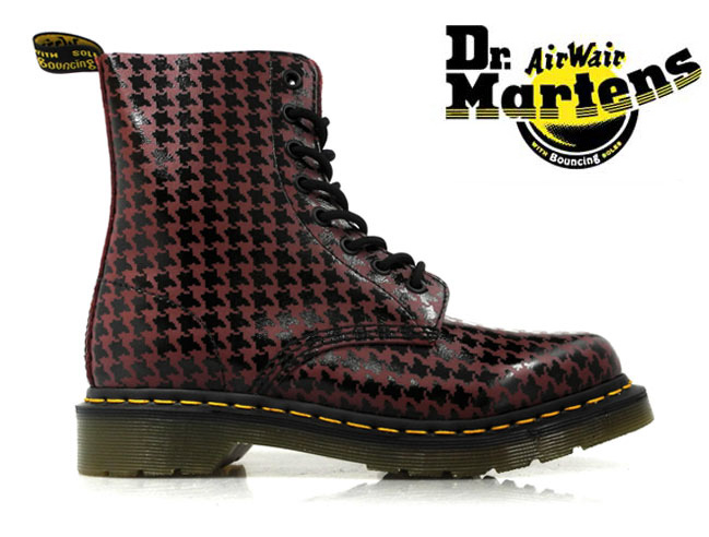 【お家DEお買い物】 ドクターマーチン Dr.MARTENS PINA BOOTS15842010r15842010 CHERRY RED[co-3]