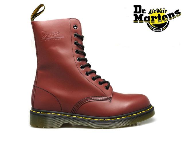 【はじめよう!!夏支度】ドクターマーチン Dr.MARTENS 1490 10EYE BOOTS r11857600 CHERRY RED 10アイ ブーツ[co-3]
