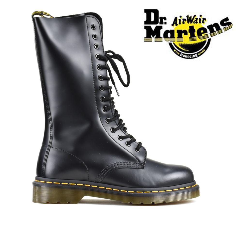 【お家DEお買い物】 ドクターマーチン Dr.Martens 1914 14EYE BOOT R11855001 BLACK 14ホール ブーツ ワークブーツ スムースレザー ブラック 黒 レディース メンズ