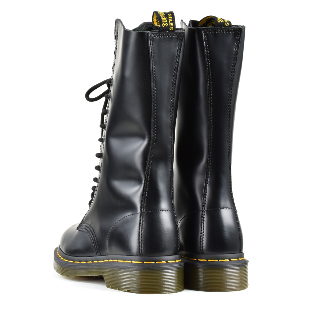 more photos 30dc3 94ffb Doctor Martin Dr.Martens 1914 14EYE BOOT R11855001 BLACK 14 hall boots work  boots mousse leather black black Lady's men
