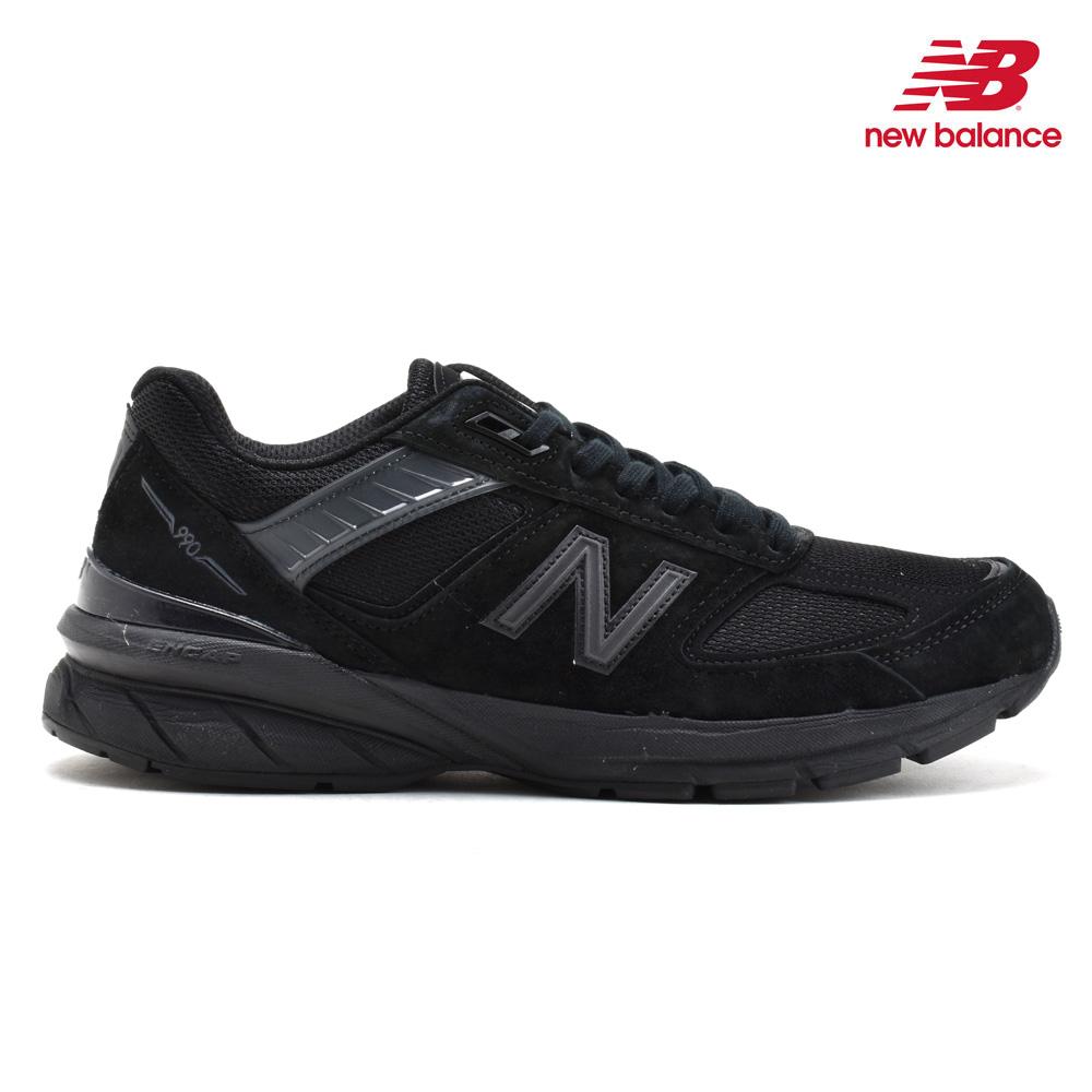 ニューバランス New Balance M990BB5 BLACK スニーカー ランニングシューズ ローカット 靴 シューズ Dワイズ Made in USA ブラック 黒 メンズ【送料無料】