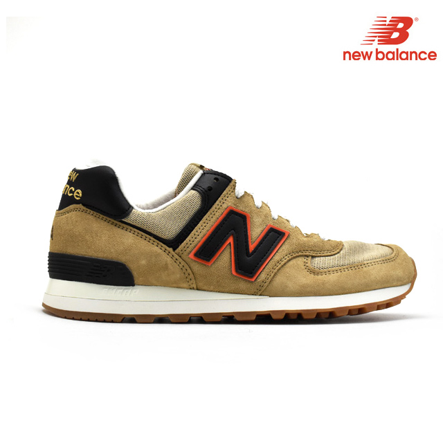 New Balance New Balance US574CBB 574 men's lady's MADE IN USA brown tea sneakers
