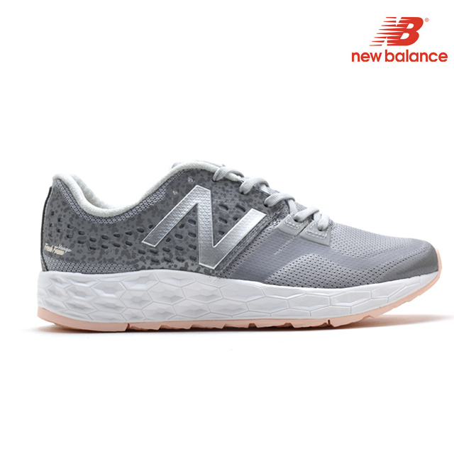 innovative design f24a2 1fcad New Balance New Balance WVNGOSV FRESH FOAM VONGO vongole Dis silver pink  SILVER PINK jogging running sneakers