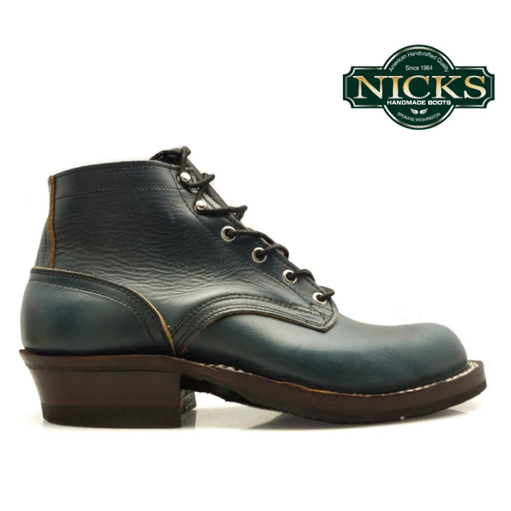 【お家DEお買い物】 ニックスブーツ NICKS BOOTS NICKS BOOTS ROBERT NAVY CHROME EXCEL ロベルト ネイビー クロムエクセル