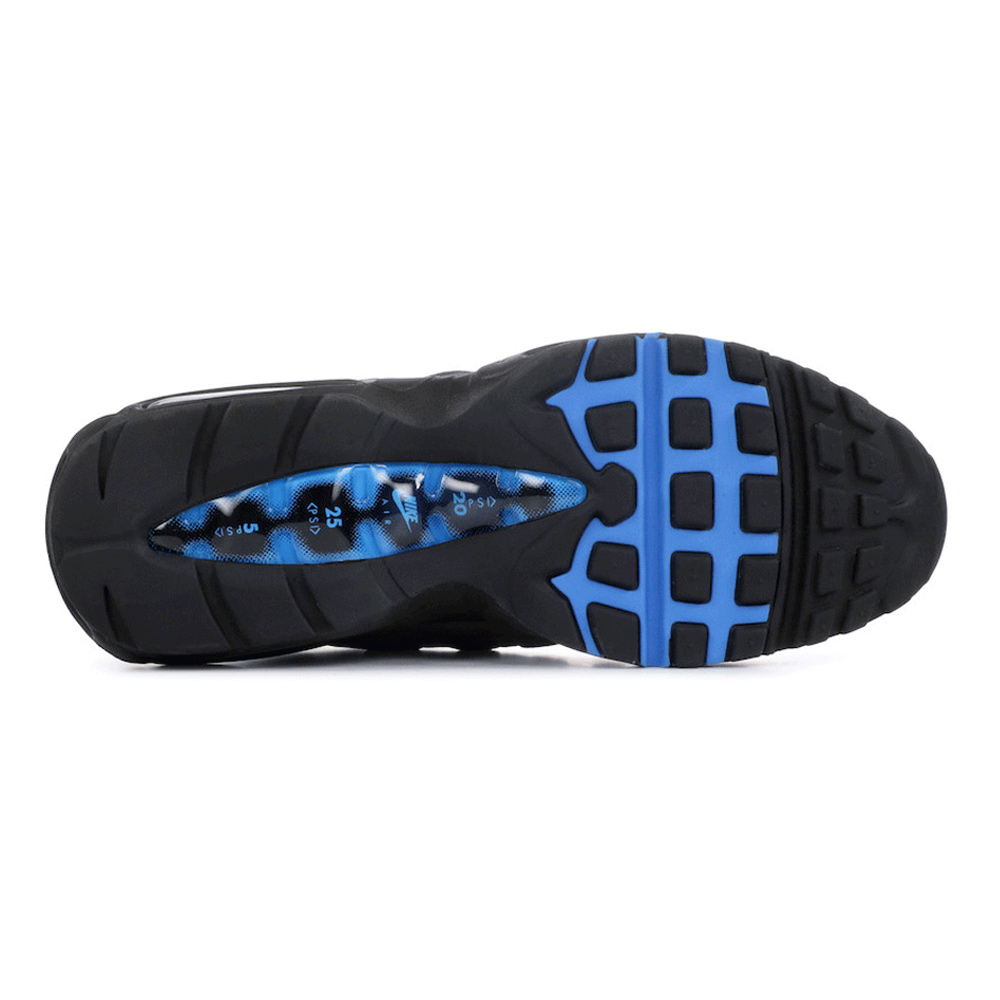 Cloud Shoe Company  Nike NIKE AIR MAX 95 WHITE CRYSTAL BLUE AT8696 ... f20ab2a47