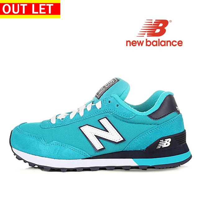 【アウトレット】【返品・交換不可】【汚れ】 ニューバランス New Balance WL515POA レディ-ス ライムブルー BLUE ジョギング ランニング スニーカー