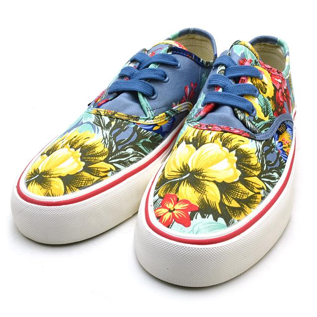 폴로랄프로렌 Polo Ralph Lauren Floral Morray hawaiian 하와이안후로랄 꽃무늬파랑백화이트브르스니카