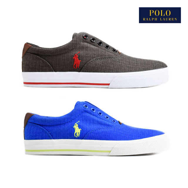 Polo Ralph Lauren Polo Ralph Lauren VITO-SK-VLC pony embroidery slip-ons  deck shoes blue blue-black black sneakers