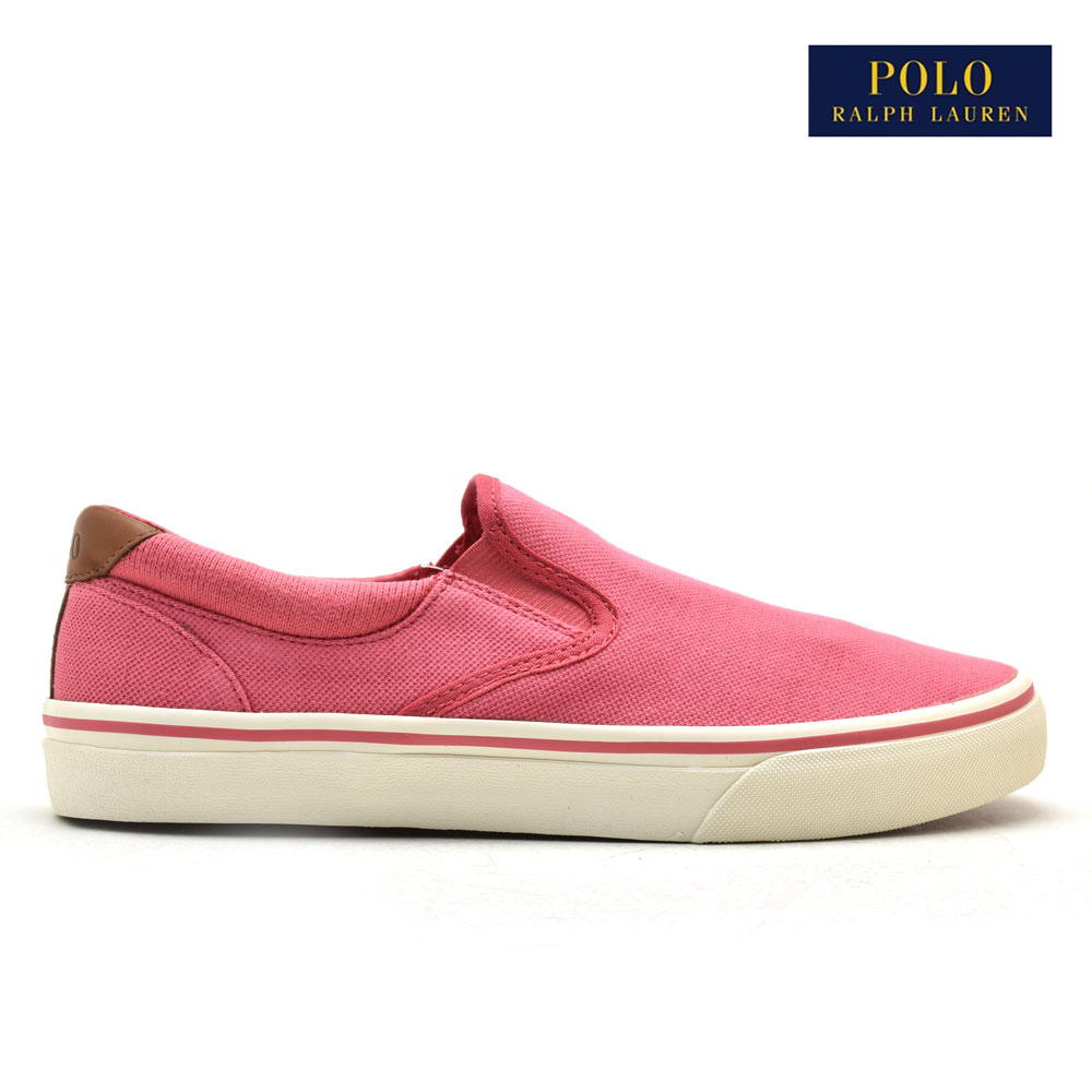 8a9e8ee1 Polo Ralph Lauren slip-ons sneakers men red POLO RALPH LAUREN THOMPSON II  SLIP-ON SNEAKER HYANNIS RED 816688434009 red