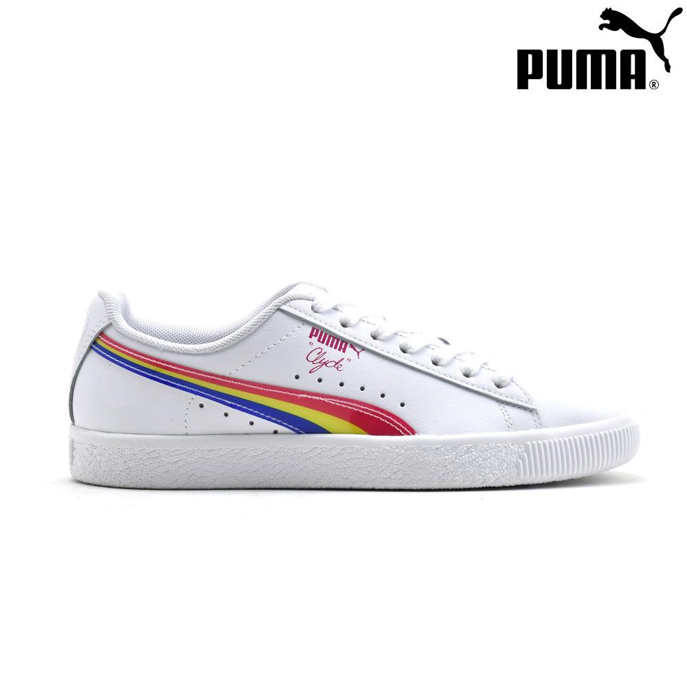 プーマ PUMA 37047001 CLYDE 90's WHITE クライド 90's スニーカー ローカット シューズ ホワイト 白 レディース